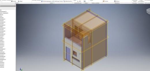 Bungalow - 3D Modell