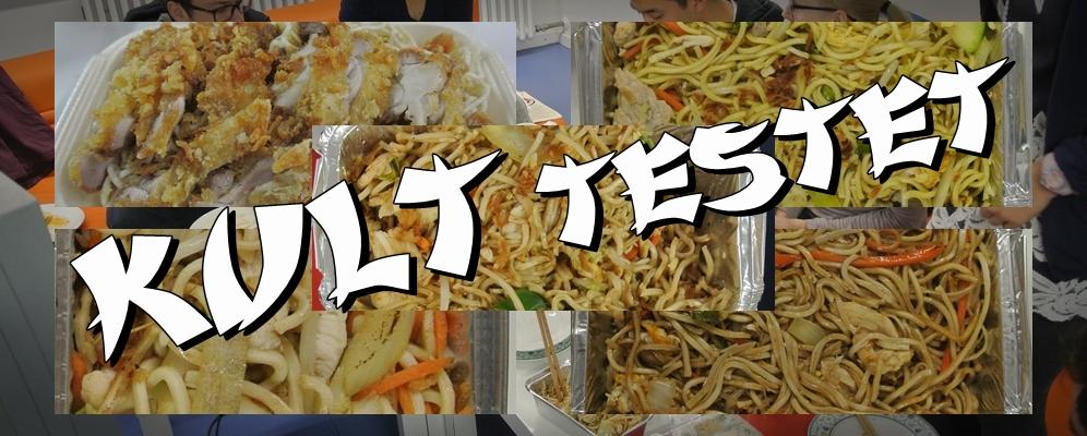 KULT testet: asiatische Lieferdienste