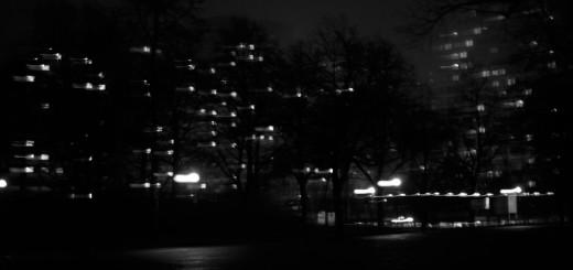 Olydorf in der Nacht