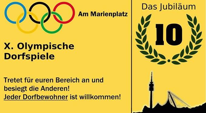 [:de]Macht euch bereit für die Olympischen Dorfspiele![:]