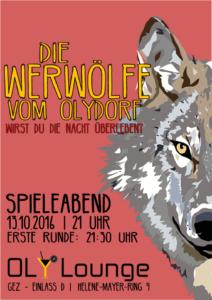 [:de]Spieleabend: Die Werwölfe vom Olydorf[:] @ Oly Lounge | München | Bayern | Deutschland