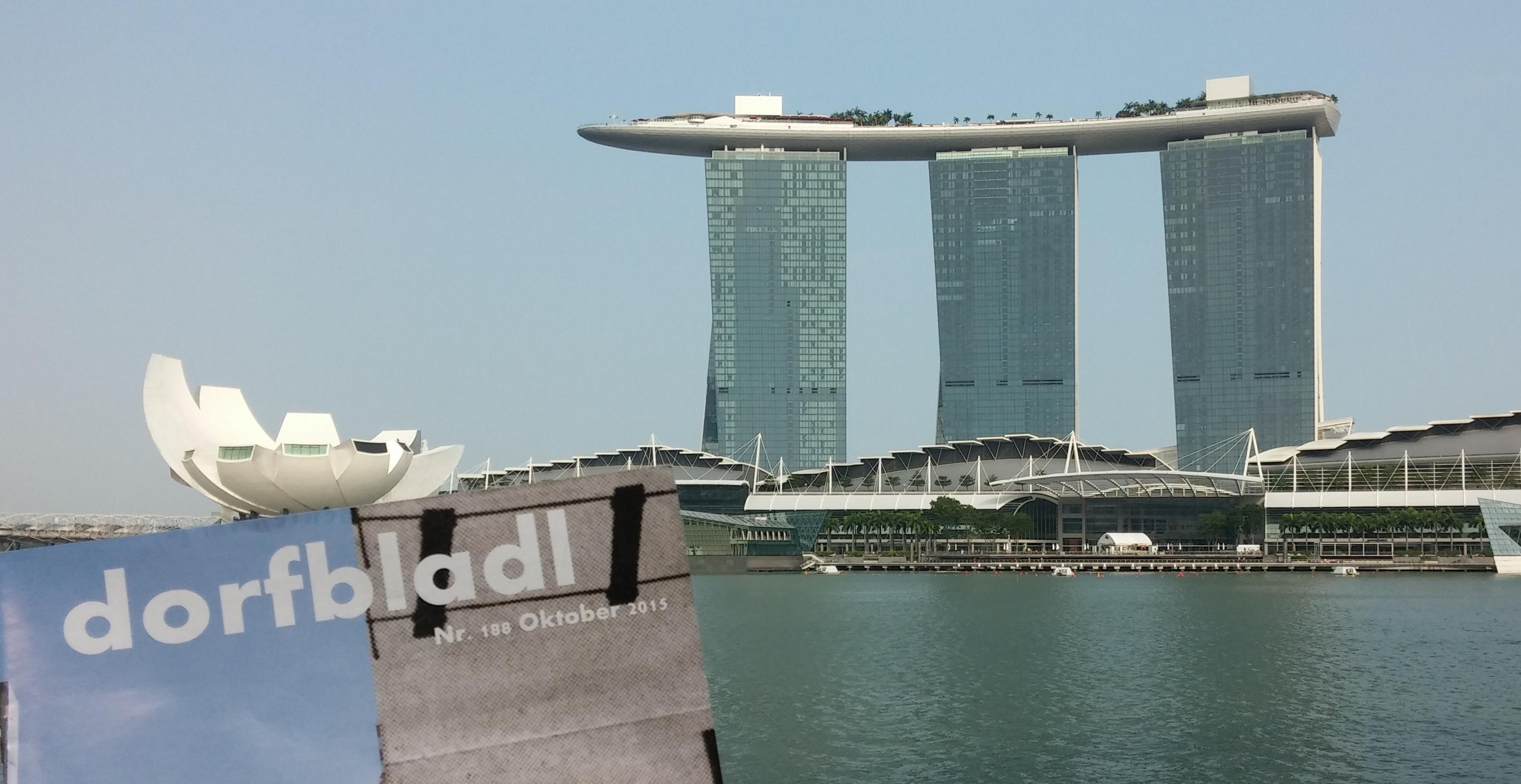 """[:de]Singapore  - the """"fine"""" city - Teil 1[:]"""