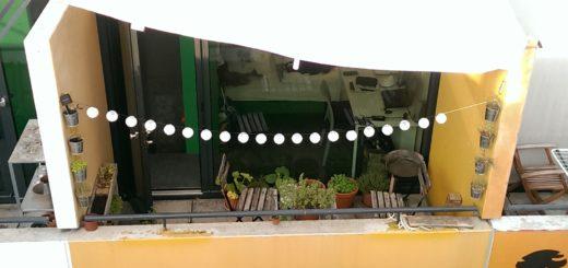 Bungalow idea: sun shield canopy