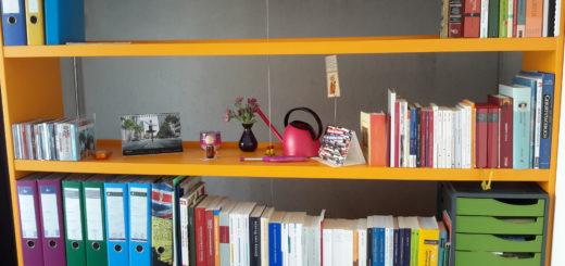 Zeig, wie du wohnst: Ein Bücherwurm im Farbsystem