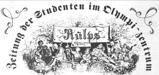 (Deutsch) Rülps: die erste Dorfzeitung im Olydorf aus 1977
