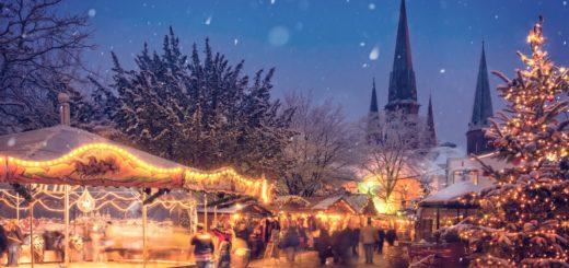 Olydorf-Weihnachtsmarkt mit Streetfood aus Fernost