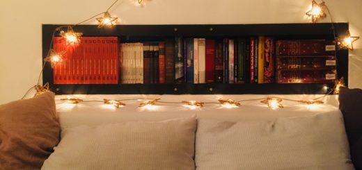 Bungalowidee: Bücherhöhle