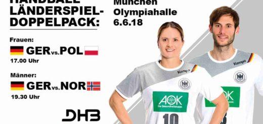 Testspiel und Handball-WM in der Olympiahalle