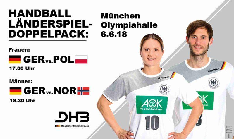 [:de]Testspiel und Handball-WM in der Olympiahalle[:]