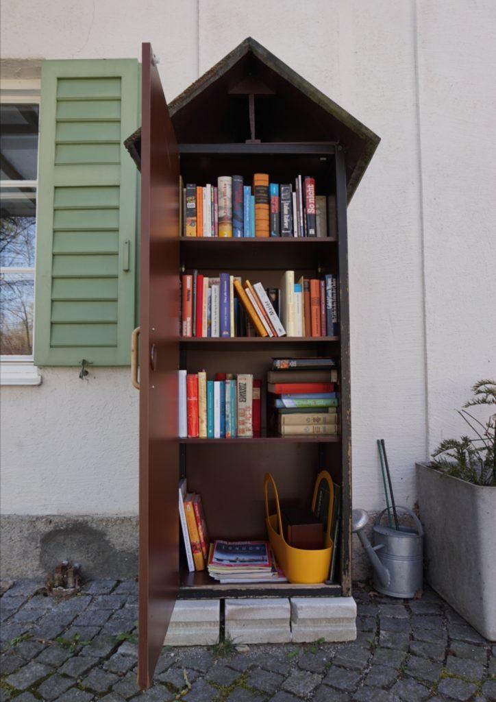 Auf Schatzsuche: die öffentlichen Bücherschränke