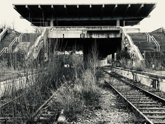 Die alte S-Bahn Station